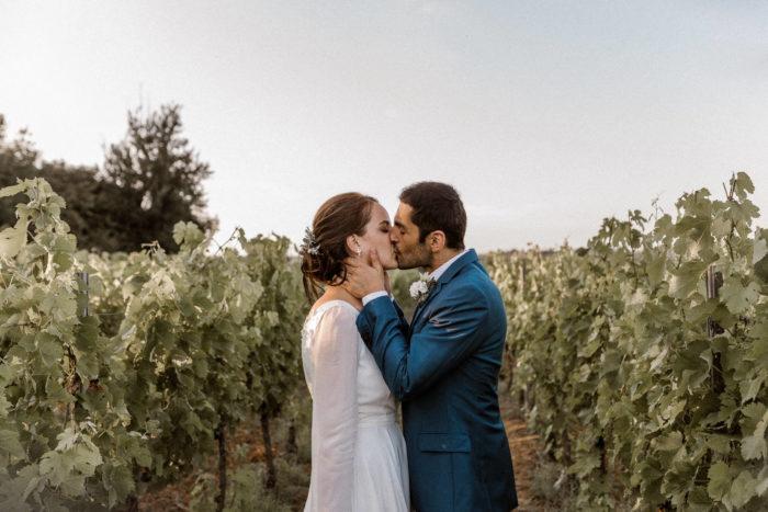 Mariage champêtre dans le bordelais - Saint-Emilion - Marc Ribis