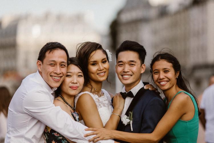 Emilie & Raymond - Mariage romantique à Paris - Marc Ribis